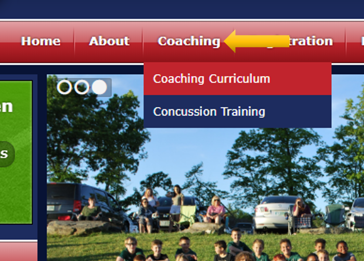 New Coaching Section